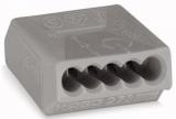WAGO 273-101 Steckklemme 5polig 0,75-1,5qmm grau